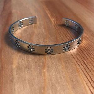 Authentic Tory Burch pierced T bracelet